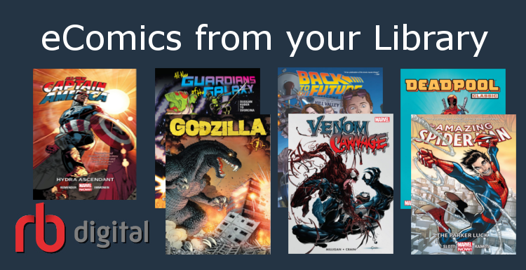 e-Comics from your Library