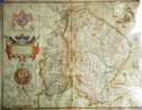 Lincolnshire, 1580 by Saxton