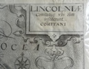 A close up of Lincolnshire, 1637 by Saxton
