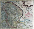 Lincolnshire, 1610 by Saxton and Kip