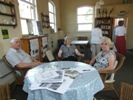 Residents of Marshchapel at the reminiscence session