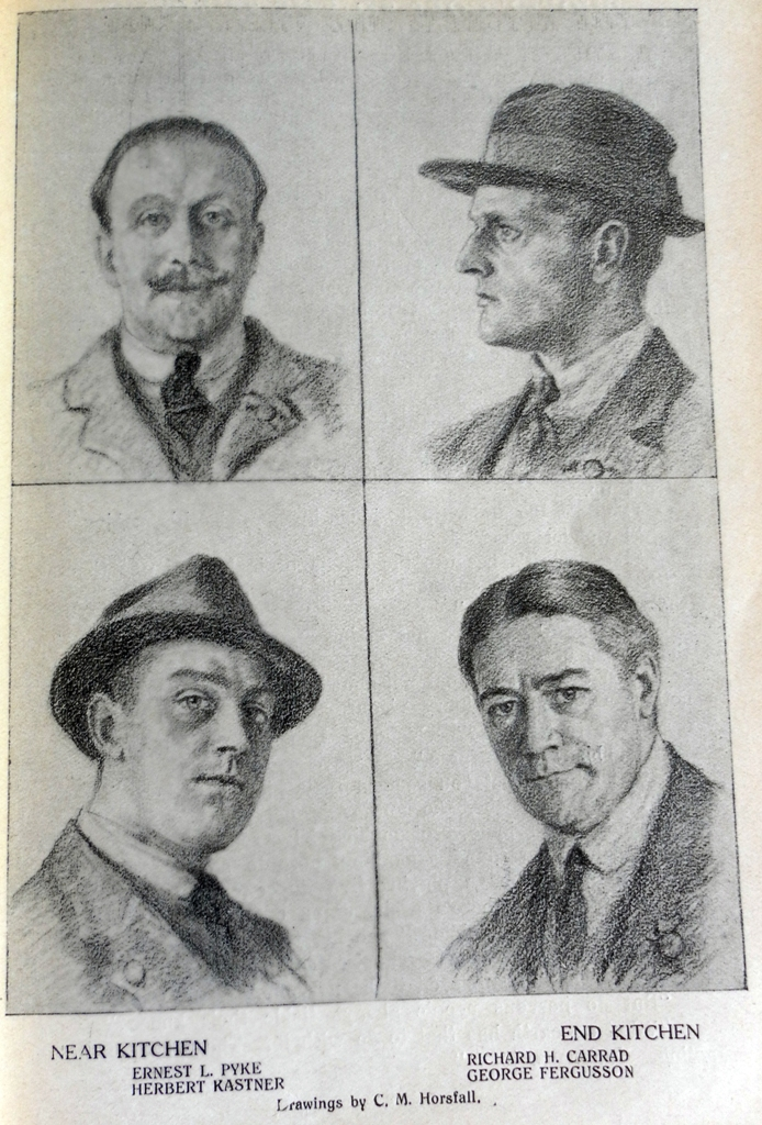 Drawings by C.M. Horsfall