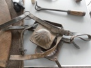 Horse tack from the saddlers workshop