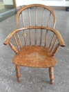 Child's Windsor chair possibly made in Lincolnshire