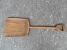 Malt shovel, made from one piece of beech