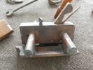 Another view of a carpenter's Rebate plane