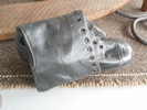 Ladies boot, all leather