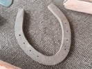 Horseshoe product of the Blacksmith or Farrier