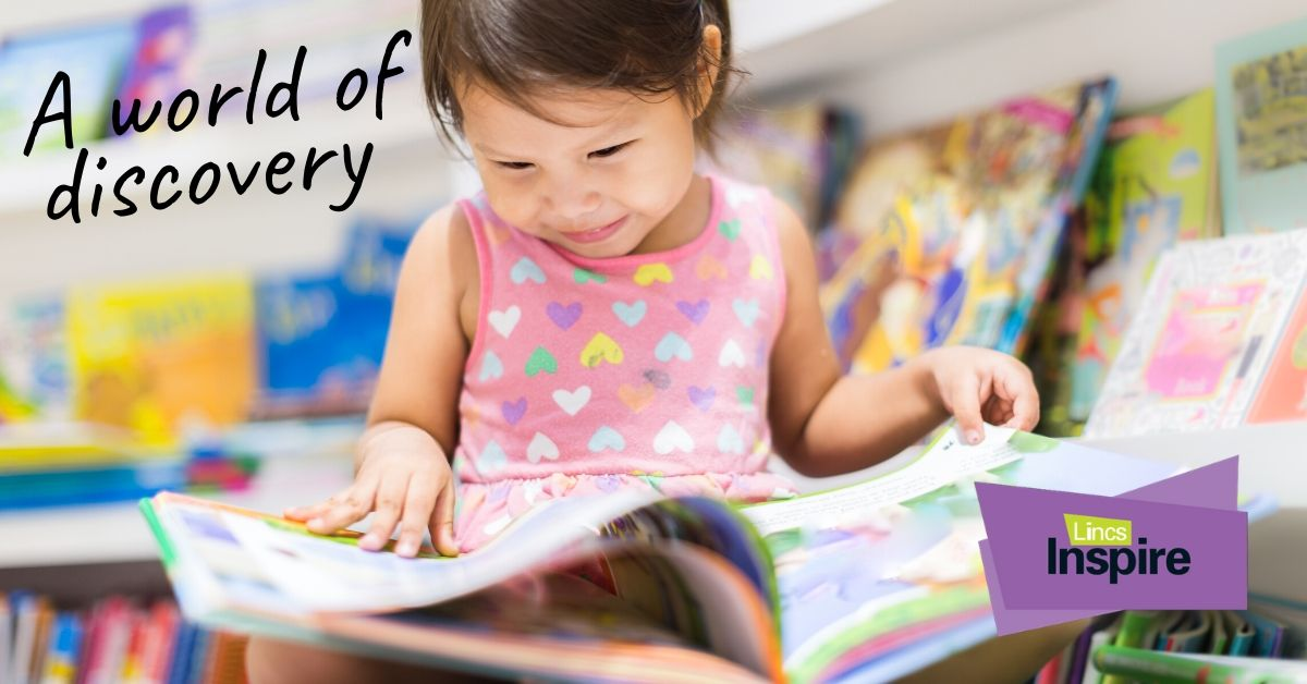 World Book Day - A world of discovery at Lincs Inspire Libraries