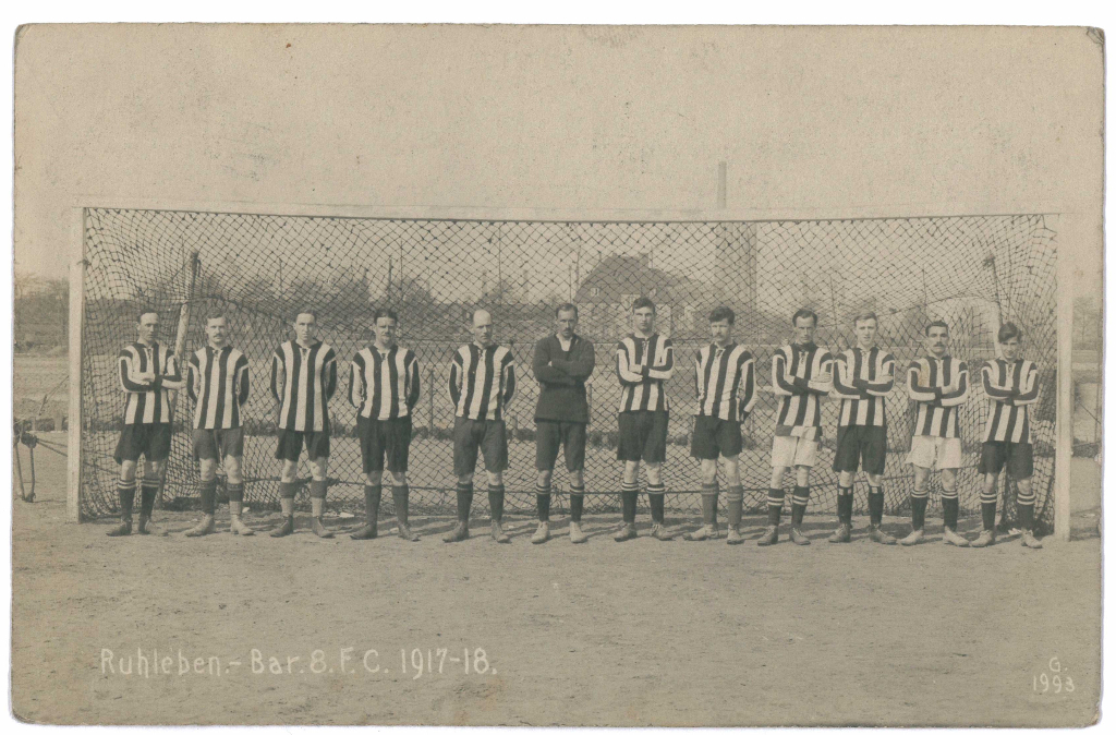 Barrack 8 FC Postcard