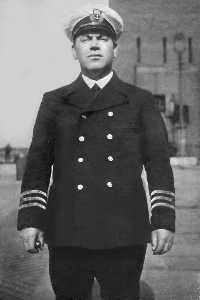 Sergeant Williams Chief Officer Merchant Navy