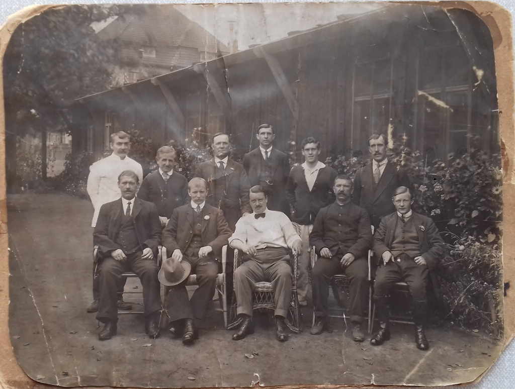 George William Middlewood, 4th from left