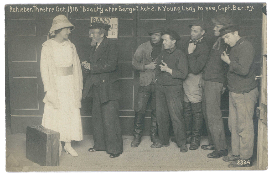 Theatre production Oct 1918, Beauty and the barge
