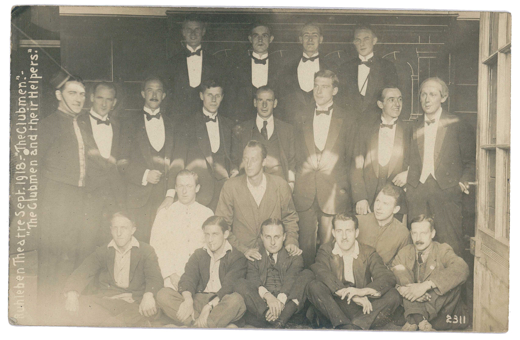 Ruhleben Theatre production - The Clubmen