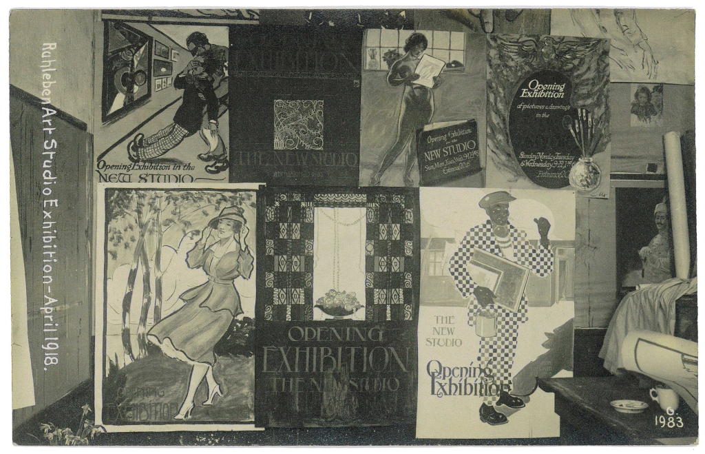 Ruhleben Art Studio Exhibition April 1918
